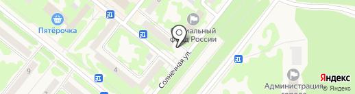 Дентани+ на карте Сосновоборска