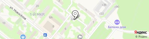 ФАС МОНТАЖ на карте Сосновоборска