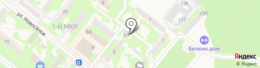 RUSH HOUR на карте Сосновоборска