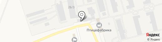Магазин косметики и бытовой химии на карте Бархатово
