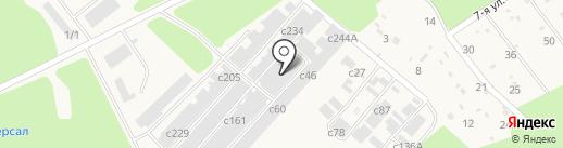 Производственно-монтажная компания на карте Сосновоборска