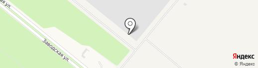 Торговая компания на карте Сосновоборска