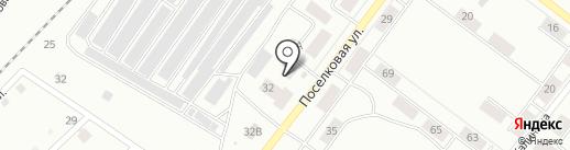 КОМПАС ТУР на карте Железногорска