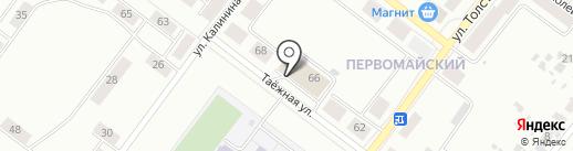 ПРОДУКТЫ ЕРМОЛИНО на карте Железногорска