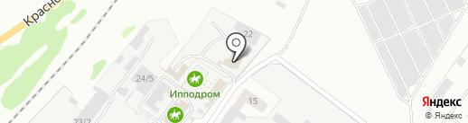 Рус-Арбо-Макс на карте Железногорска