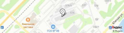 Иваныч на карте Железногорска