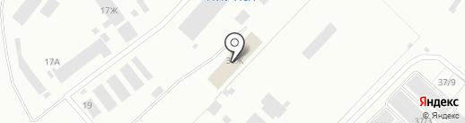 Подача на карте Железногорска
