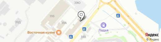 УПП №922 на карте Железногорска