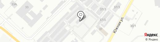 Экскалибур на карте Железногорска