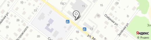 Красноярская снэковая компания на карте Железногорска