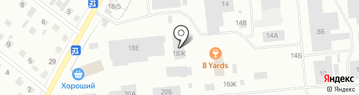 Сибагросоюз-09 на карте Железногорска