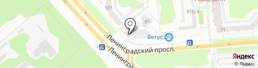 ЭЙФОРИЯ на карте Железногорска