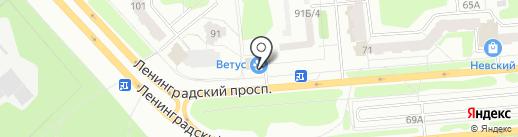 Faberlic на карте Железногорска