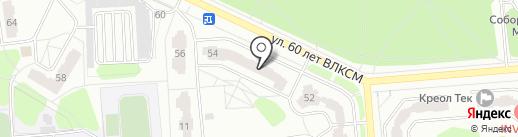 4BUKETA.RU на карте Железногорска