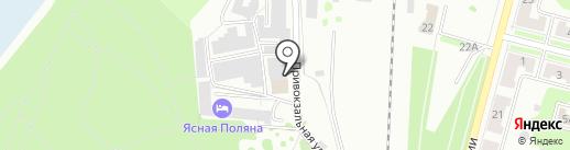АвтоАзарт на карте Железногорска