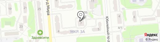 Енисей на карте Железногорска