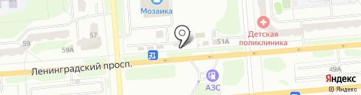 ДИКИЙ ЗАПАД на карте Железногорска