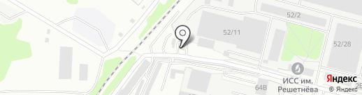 АЗС КБП на карте Железногорска