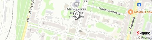 Нотариусы Альнушева О.И. и Ревякина И.Г. на карте Железногорска