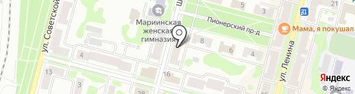 Сакура Железногорск на карте Железногорска