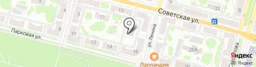 ПРЭХ ГХК на карте Железногорска