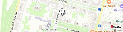 Малые космические аппараты на карте Железногорска
