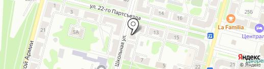 Находка на карте Железногорска