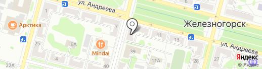A-travel на карте Железногорска