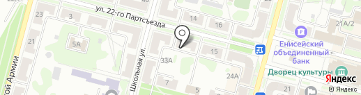 Центр жилья на карте Железногорска