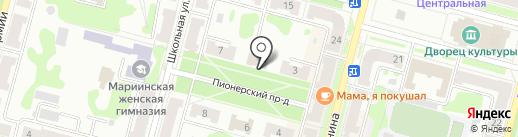 УФК на карте Железногорска