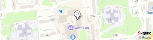 Альфа Дизайн Групп на карте Железногорска