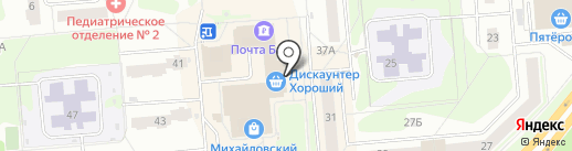 Кондитерская лавка на карте Железногорска