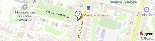 Domani на карте Железногорска