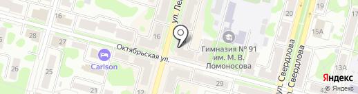 Мама-мода на карте Железногорска