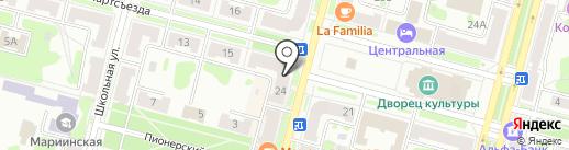 Согласие на карте Железногорска
