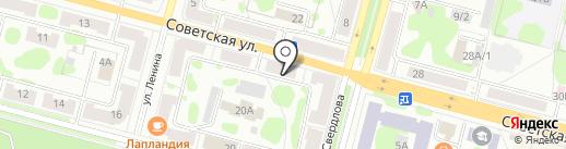 Сибирская мебельная компания на карте Железногорска
