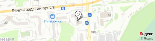 Мир Сантехники на карте Железногорска