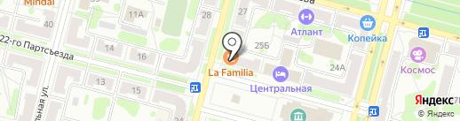 Красноярский хлеб на карте Железногорска