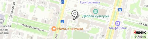 Камила на карте Железногорска