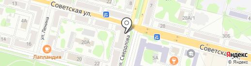 Мама Роза на карте Железногорска