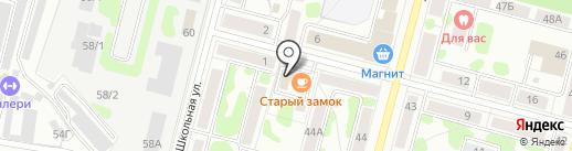 Болеро на карте Железногорска