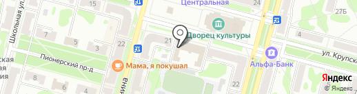 Управление экономики и планирования Администрации г. Железногорска на карте Железногорска