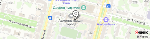 Управление делами Администрации г. Железногорска на карте Железногорска