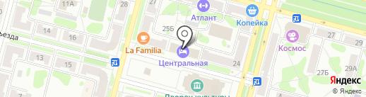 Банк ВТБ на карте Железногорска