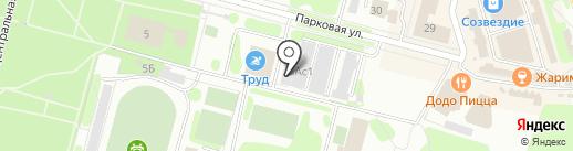 Виктория на карте Железногорска