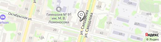 Офис-CITY на карте Железногорска