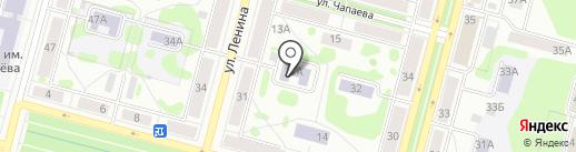 Детская школа искусств им. М.П. Мусоргского на карте Железногорска