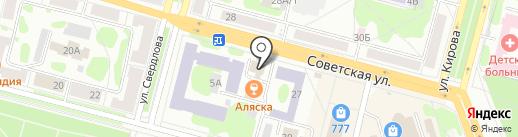 Системы охраны на карте Железногорска