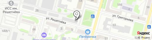Банкомат, Банк ВТБ 24, ПАО на карте Железногорска