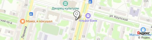 АЛЬФА-БАНК на карте Железногорска